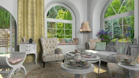 Le petit boudoir - Classic - Living room  - by Bibiche