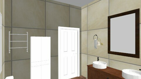 master bathroom - Glamour - Bathroom  - by Gunay_az