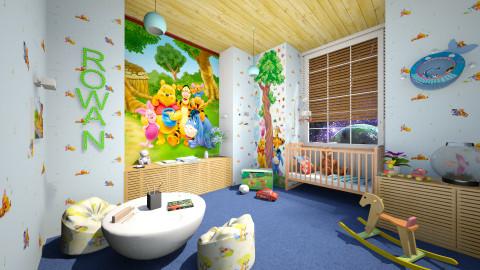 Rowan - Kids room  - by dddare
