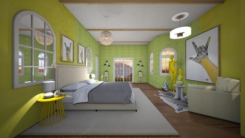 Guava Goddess - Bedroom  - by stephanyhdez