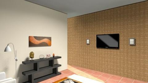 minha sala - Retro - by arturandrade
