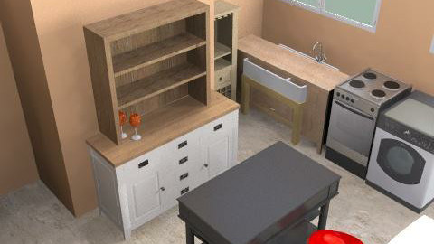 kitchen again - Eclectic - Kitchen  - by shinyfeet
