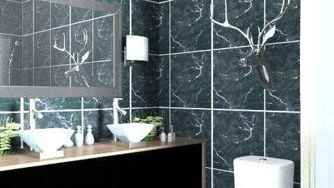 Hotel Bathroom - Modern - Bathroom  - by laurawoodley