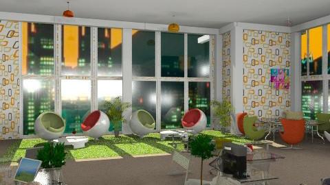 design office - Eclectic - Office  - by van_sloten_taika