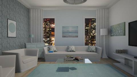 livingroomblue - Living room - by Kim Youn ji