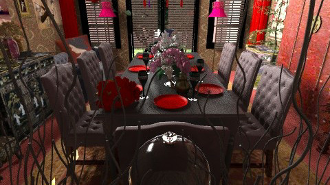 Haunted Korean Dining1 - Glamour - Dining room  - by Eve1yn