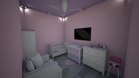 girls nursery - Modern - Kids room  - by jade1111