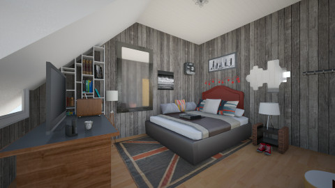Upcoming Urban - Vintage - Bedroom  - by lauracopey