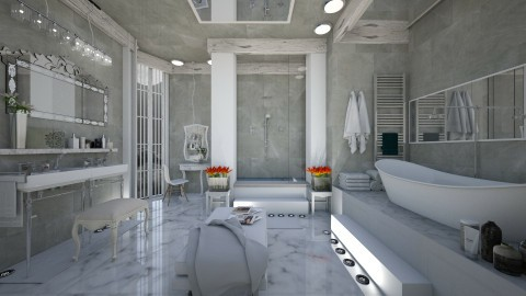 Elegance - Modern - Bathroom  - by NikolinaB26