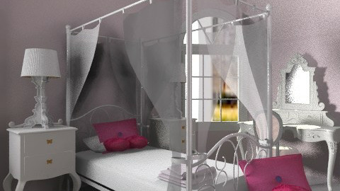 Princess Room - Classic - Bedroom  - by architect_09
