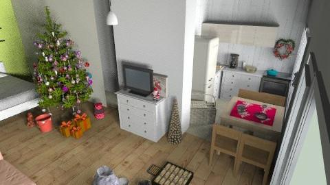 flatjhk - Living room - by pyksio