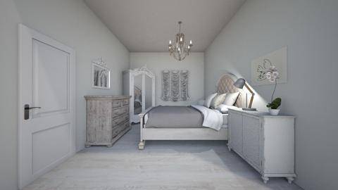 white - Country - Bedroom  - by freewillie