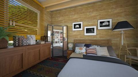 woodhouse - Vintage - Bedroom  - by annabu