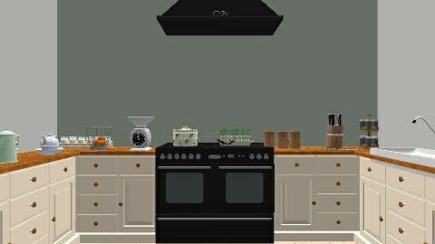 kitchen farm - Country - Kitchen  - by Julia_GC