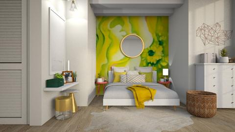 OKeffe inspired Bedroom - Bedroom - by MiaM