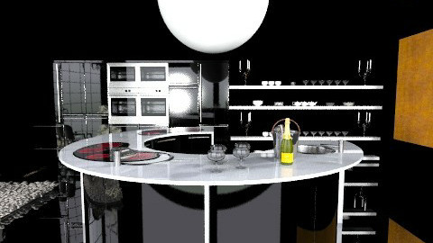 Bramcote - Glamour - Kitchen  - by camilla_saurus