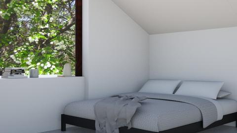 Minimalistic Bedroom - Bedroom - by Natalie T