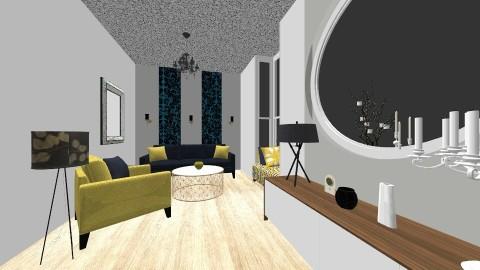 En cours  - Vintage - Living room  - by Hanane Haidoune