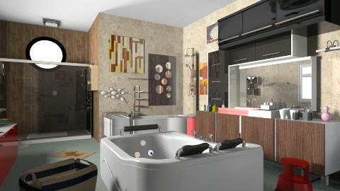Bathroom - Eclectic - Bathroom  - by Teddyyy