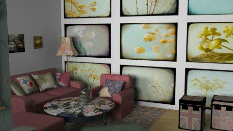 Vintage # - Classic - Living room  - by SariJo