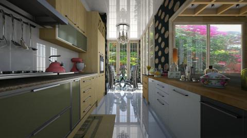 Loft - Kitchen  - by Maria Helena_215