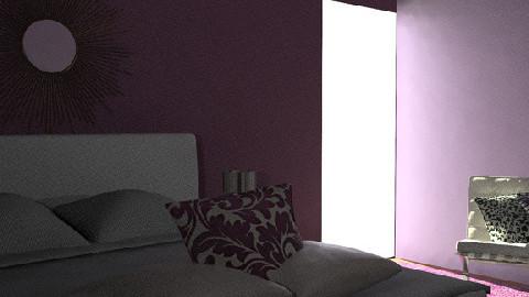 Spare Bedroom 3 - Retro - Bedroom - by zenobiadickson