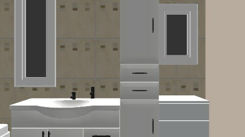 NEW BATHROOM - Minimal - Bathroom  - by crudda5