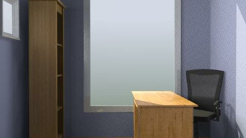 Martin's Office Square Desk - Minimal - Office  - by designyogi