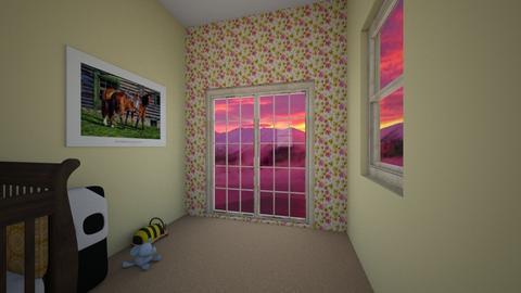 Flower Nursery - Kids room - by SexxyMama6