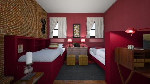 sleepover at grandma - Eclectic - Bedroom - by kaasschaaf