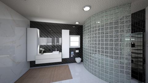 bathroom - Glamour - Bathroom  - by Zareia Smith