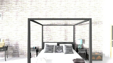 Kailyns room THE BED - Minimal - Bedroom - by altheaa_