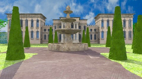 The Palace - Classic - Garden  - by yourjieee