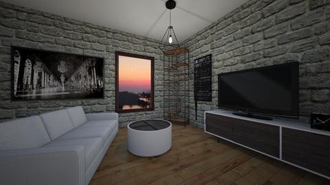Ej - Living room - by sak2007