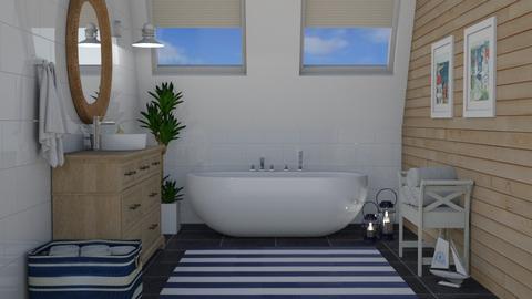 Nautical theme - Bathroom  - by Thrud45
