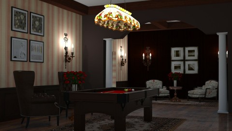 Billiard room - by Sanja Pipercic