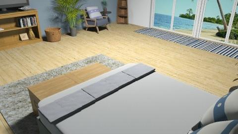 Bedroom on the Beach - Eclectic - Bedroom  - by Katie Gangloff