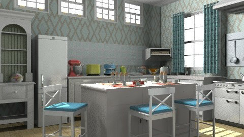 CK - Country - Kitchen  - by milyca8