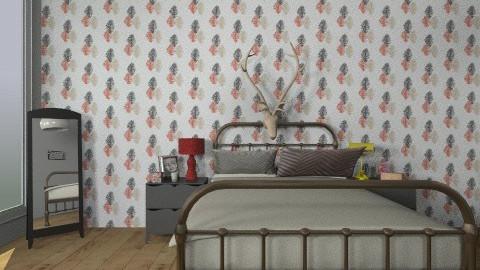trees - Rustic - Bedroom  - by mmm11