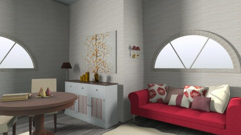 chilling area  - Living room - by PaperFlower