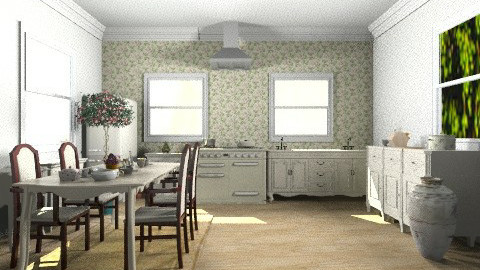 Provenza- kitchen - Rustic - Kitchen  - by ARMIDA 1