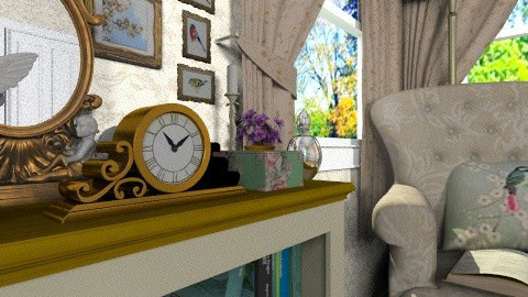 Time passes by - Classic - Living room  - by Bibiche
