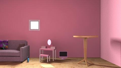 Katie's Studio Apartment - Glamour - Living room  - by megen