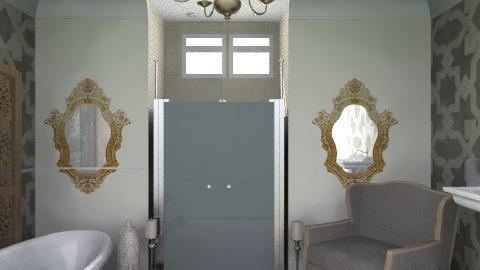 Bathroom 2 - Rustic - Bathroom  - by mide93