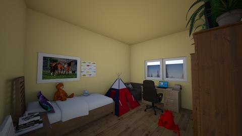 My room - Modern - Bedroom - by WolfRat