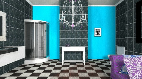 bathroom  - Glamour - Bathroom  - by bethany81