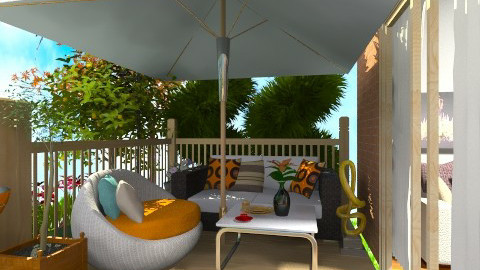 My garden - Classic - Garden  - by Caci86