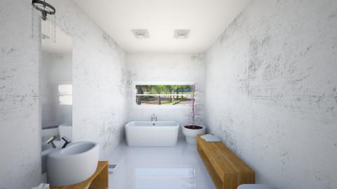 banheiro suíte - Minimal - Bathroom  - by rafaelavitorino93