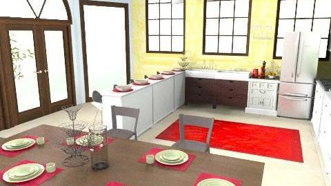 Kitchen - Classic - Kitchen  - by emilypinnock