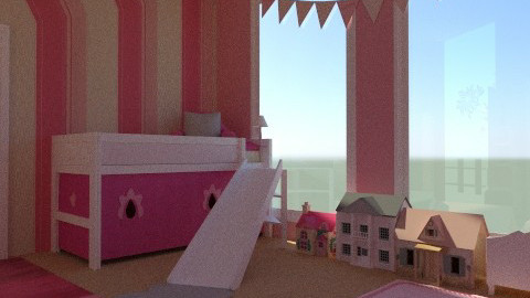 princess palace - Classic - Kids room  - by jgm728